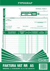 Typograf Faktura VAT RR A5