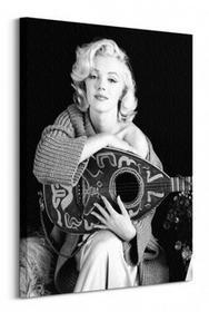 Marilyn Monroe (Lute) - Obraz na płótnie 30x40