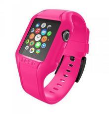 Incipio NGP Strap - Elastyczny Pasek do Apple Watch 42mm (różowy) WBND-012-PNK