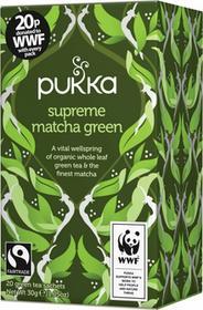 Pukka Herbata ekologiczna Supreme Matcha Green 20 saszetek
