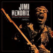 Jimi Hendrix - kalendarz 2016 r