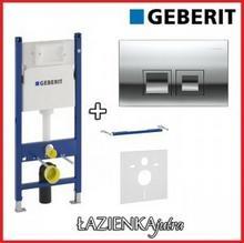 Geberit Zestaw Stelaż podtynkowy UP100 H112 z przyciskiem Delta50 chrom (111.153