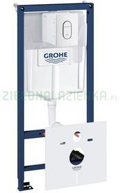 Grohe Rapid SL 39450000 stelaż podtynkowy z przyciskiem spłukującym do miski wiszącej