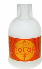 Kallos Color Shampoo 1000ml W Szampon do włosów farbowanych