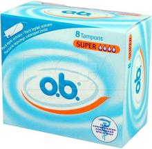 O.B. Pro Comfort Super, tampony, 8 szt