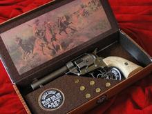 Hiszpania COLT PEACE MAKER 1873r SINGLE ACTION ARMY CAL 45 krótki polerowany koś