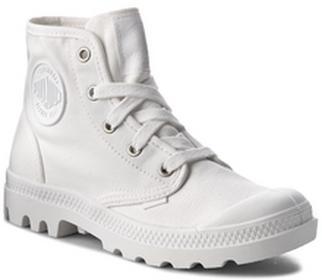 Palladium Trapery Pampa Hi 92352912M White/White/Dull Silver