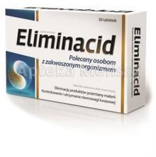 Aflofarm ELIMINACID Polecany osobomzakwaszonym organizmem - 30 tabl. 4802251