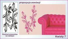Naklejka Kwiaty, Ornamenty nr 7