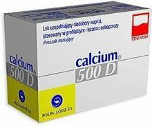 Polfa Calcium 500 D 60 szt.