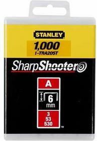 Stanley Zszywki 6mm 1tys 1-TRA204T