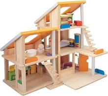 Plan Toys Domek dla lalek z mebelkami