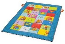 Taf Toys Mata edukacyjna dla dzieci kolorowe kwadraty