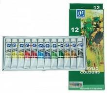 Firster akrylowe 12 kolorów x 12 ml (tubka) FIRSTER