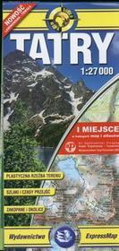 Tatry 1:27 000. Mapa turystyczna