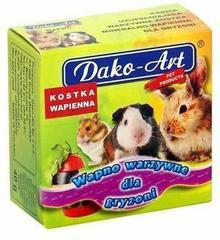 Dako-Art Sp. z o.o. Wapno warzywne Dla gryzonia 40g