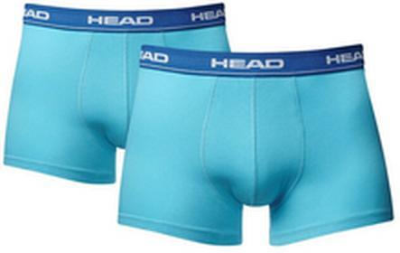 Head Bokserki Sportowe Bokserki Sportowe Mens Boxer 2Pack - cyan niebieski