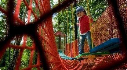 Park linowy dla dziecka - przygoda na wysokości - Chorzów