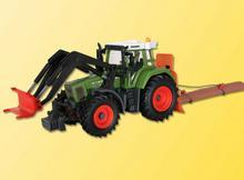 Kibri Traktor Fendt 926 Z Podnośnikiem I Wciągarką 12246