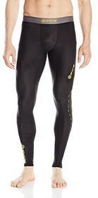 Skins Dnamic Long Tights długie kalesony męskie, czarny, L