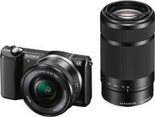 Sony ILCE-5000YB + 16-50 + 55-210 kit czarny