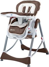 Caretero IKS 2 Krzesełko do karmienia Bistro Brown