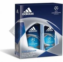 adidas UEFA Champions League Star Edition Deodorant Body Fragrance 75 ml + Deo B