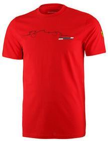 Ferrari F1 Koszulka Mens Graphic Tee 4 - Red
