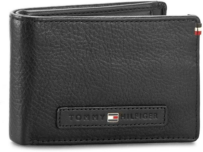 dfb91613774d4 Tommy Hilfiger Mały Portfel Męski Corporate Loop Mini Cc Flap Coin Pocket  AM0AM01772 002