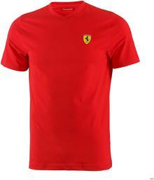 Ferrari F1 Koszulka Santander V-neck Tee - Red 3