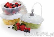 Zestaw 3 pojemników obiadowych Foodsaver PO861