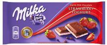 Milka Strawberry Yoghurt 100g