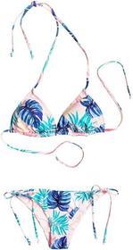 Roxy Tiki Tri/Tie Side Surfer Beach Palm Combo różowy Shadow (MD