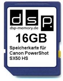 DSP Memory parent for Canon PowerShot SX50 HS 16 GB 4051557370166