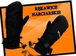 Woosh Damskie Rękawice narciarskie PAW PAW_BLACK_XS