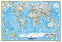 B2B Partner Świat - mapa polityczna Classic 173057