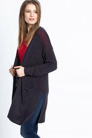 Review Sweter - - Kardigan Basic Tapeyarn grafitowy 00768502754