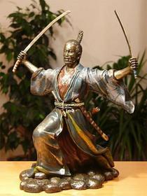 Veronese Potężny samuraj z dwoma mieczami