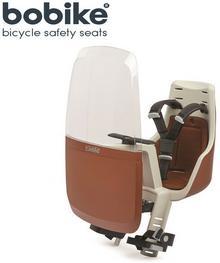 Bobike Fotelik rowerowy przedni Mini Exclusive - Cinnamon Brown