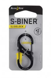 Nite-Ize Nite Ize S-Biner #2 SlideLock Czarny
