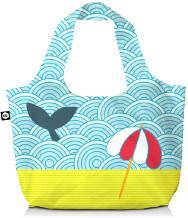 BG Berlin Eco torba na zakupy 3w1 BG Eco Bags - Light Whale BG001/01/115