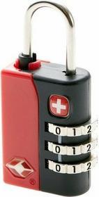 Wenger kłódka czerwona TSA WE6183RE