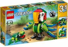 LEGO Creator 31031 Zwierzęta z lasu deszczowego