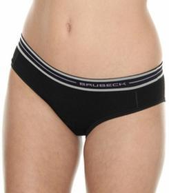 Brubeck Majtki hipster termoaktywne damskie Merino Active Wool HI10190 - czarny
