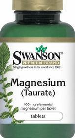 SWANSON Taurynian Magnezu 100mg 120 szt.