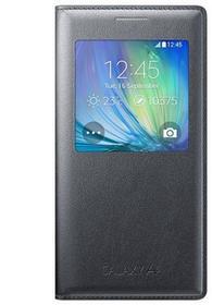 Samsung S-View Cover do Galaxy A5 Czarne Charcoal EF-CA500BCEGWW
