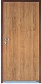 Witex Drzwi wejściowe stalowe  Super-Lock WSL-1000PP 90 prawe orzech