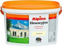Alpina Farba elewacyjna waniliowa 2 5 l