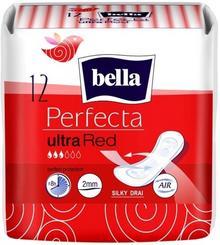 Bella Ultra Red Perfecta Podpaski Higieniczne 12 Sztuk
