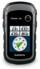 Garmin eTrex 30x GPS Europa Wschodnia szary